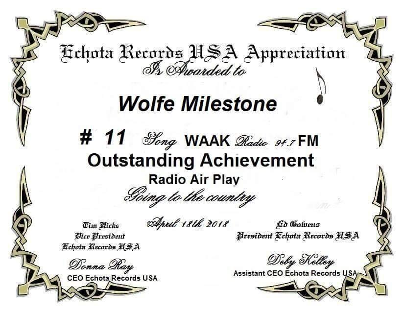 Outstanding Achievement 2018