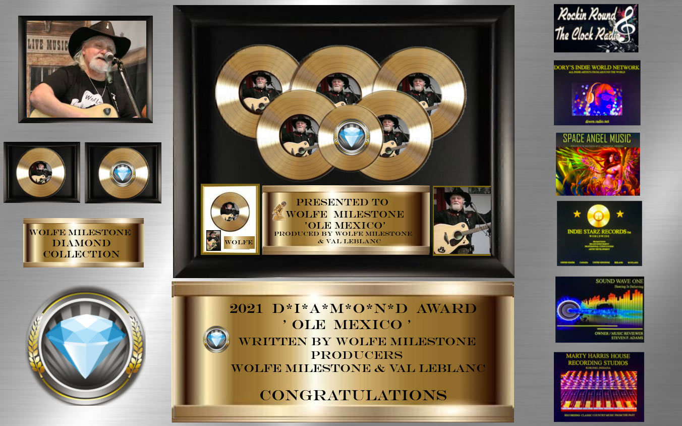 Diamond Award - Ole Mexico, February 2021
